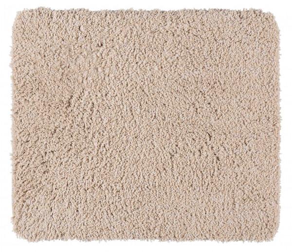Badematte Mélange sand 55x65cm