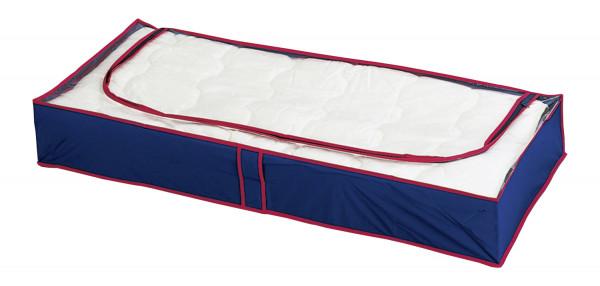 Unterbettkommode blau-rot 4er