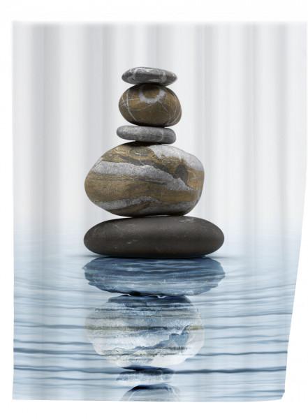 Duschvorhang Meditation, 180 x 200 cm waschbar
