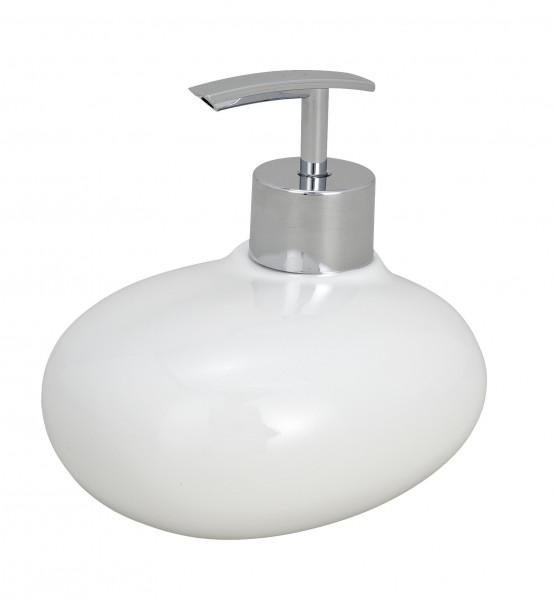 Seifenspender Pebble Stone White ca. 240 ml