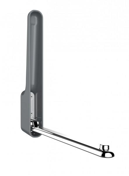 Klapphaken Premium Omega Stahlgrau