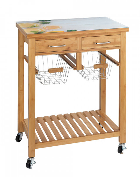 Küchenwagen Fresco Bambus