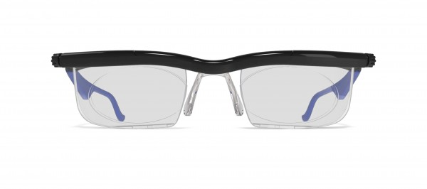Individuell einstellbare Adlens® Brille Grün
