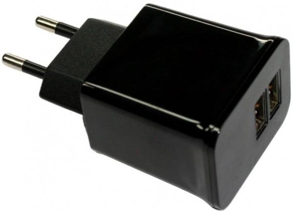 USB-Doppel-Adapter Steckdose