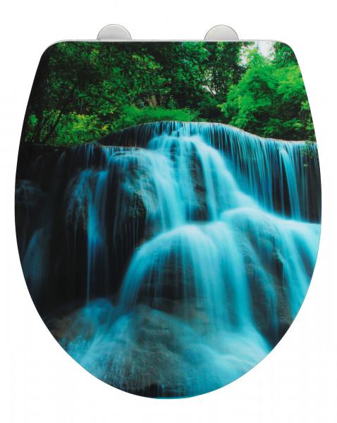 WC-Sitz Waterfall, Duroplast Acryl
