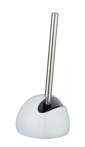 WC-Garnitur Rimless Neo weiß Keramik, Silikonbürste