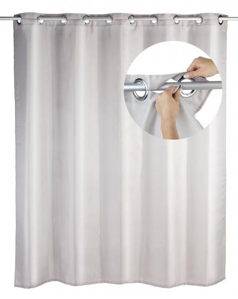 Duschvorhang Comfort Flex Taupe, 180 x 200 cm waschbar