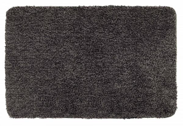 Badteppich Mélange Mouse Grey 55 x 65 cm, Mikrofaser