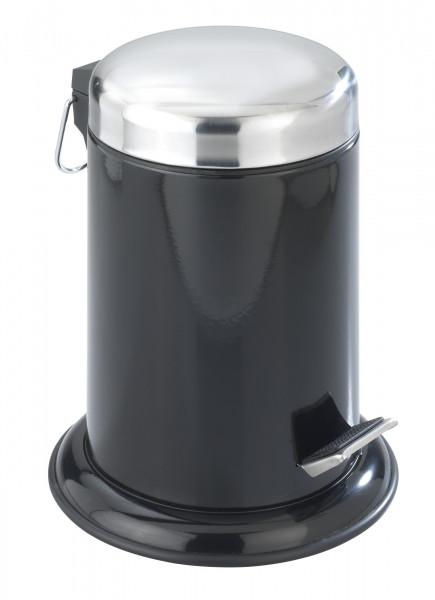 Kosmetik Treteimer Retoro glänzend schwarz