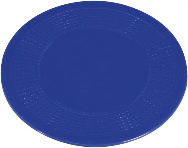 Anti-Rutsch-Unterlage, Blau, Weichgummi, Ø190 mm
