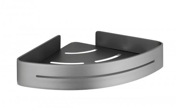 Eckablage Montella Aluminium, Wandmontage