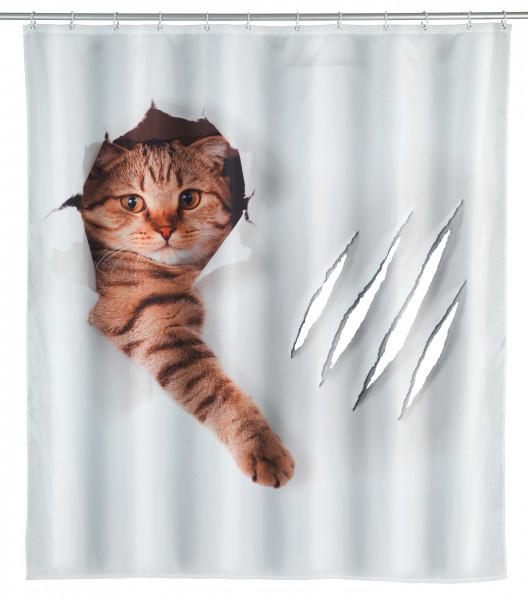 Duschvorhang Cute Cat wasserabweisend