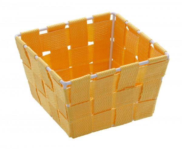 Aufbewahrungskorb Adria Mini Orange, quadratisch
