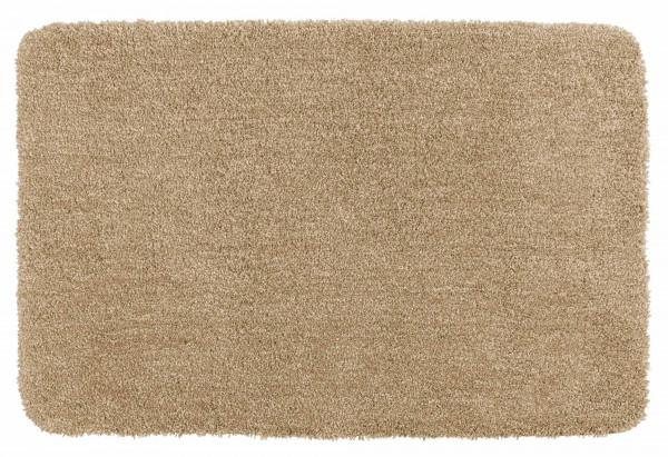 Badematte Mélange Sand, 60x90 cm
