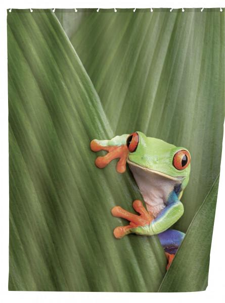 Duschvorhang Frog, 180x200 cm
