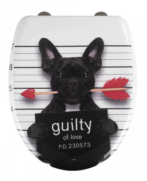 WC-Sitz Guilty Dog
