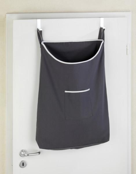 Über-Tür Wäschesammler Canguro Grau