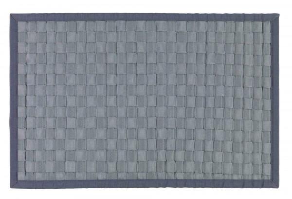 Badematte Adria Grau 50 x 80 cm