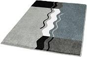 Badteppich Vanessa Polyacryl Platin, 40 x 30 cm