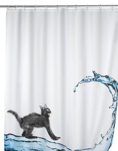Duschvorhang Cat 180x200, antischimmel
