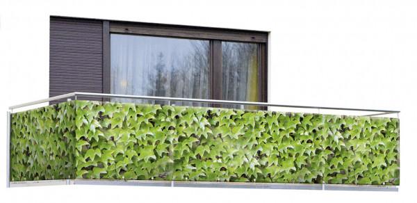 Balkon-Sichtschutz Wilder Wein