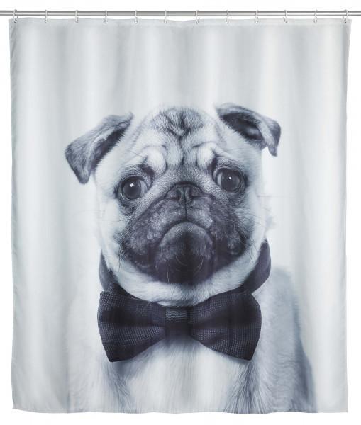 Duschvorhang Pugy, 180 x 200 cm, Polyester