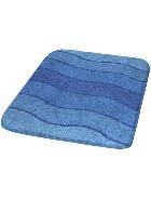 Badematte Blau 60 x 90 cm