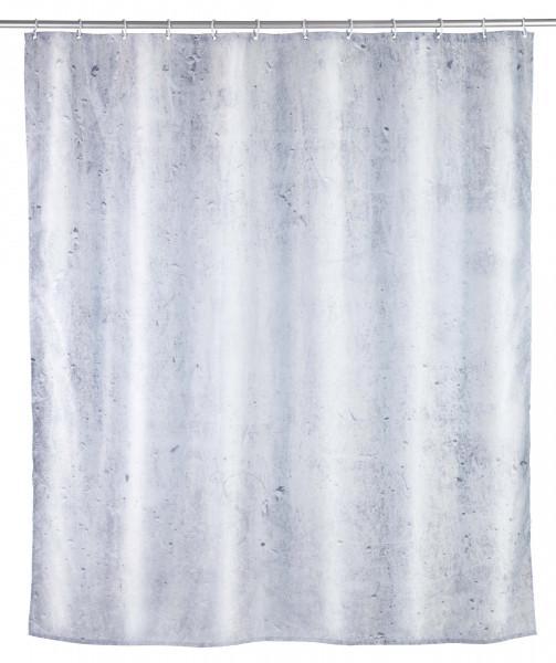 Duschvorhang Concrete Polyester, 180 x 200 cm, waschbar
