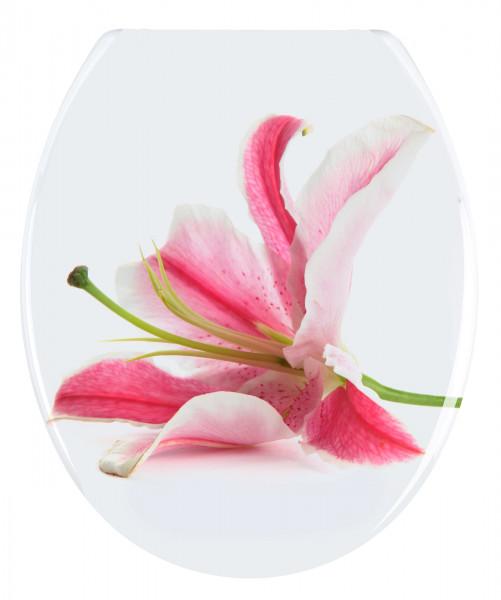 WC-Sitz Orchid Duroplast