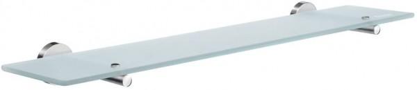 Glas Regal, Silber/weiß
