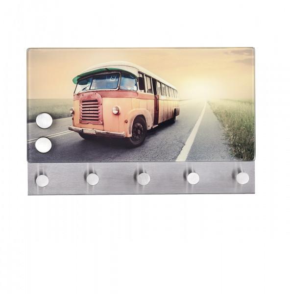 Magnetische Garderobe Bus, 30x19 cm