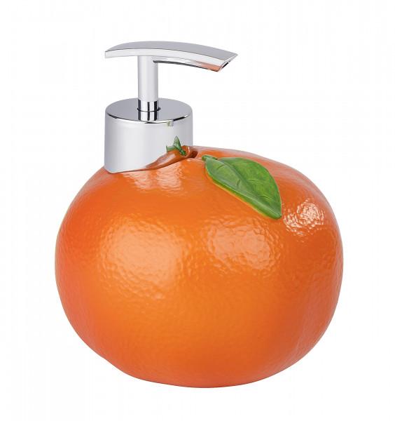 Seifenspender Orange Spülmittelspender, 300 ml