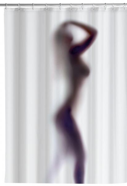 Duschvorhang 180x200 Silhouette antischimmel
