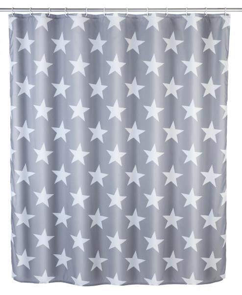 Duschvorhang Stella 180x200cm, grau