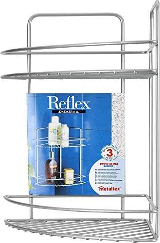 Reflex Eck-Regal 2-stöckig Metall Matt