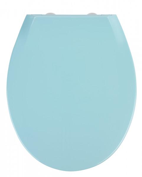 WC Sitz Toilettendeckel Absenkautomatik Klodeckel Toilettensitz Premium Kos Blau