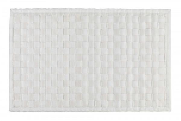 Badematte Adria Weiß 50 x 80 cm
