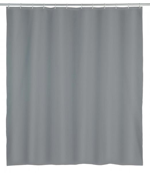 Duschvorhang Punto Grau Polyester, 180 x 200 cm, waschbar