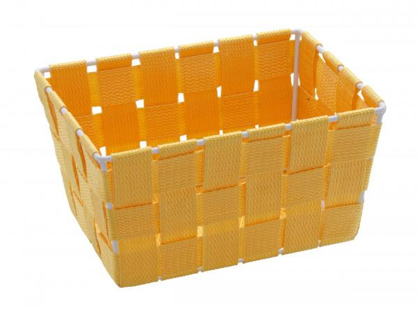 Aufbewahrungskorb Adria Mini Orange, rechteckig