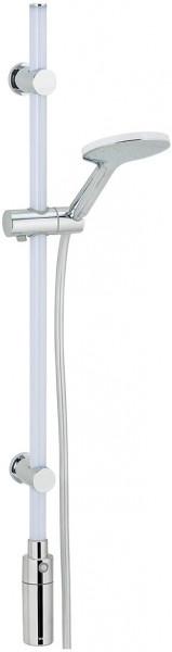 LED Duschstange 94 cm warmweiß SET