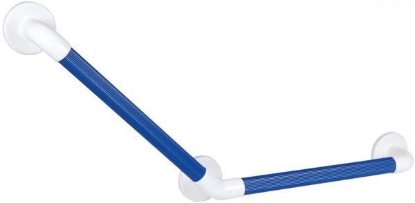 135° Winkelgriff - geriffelt, blau
