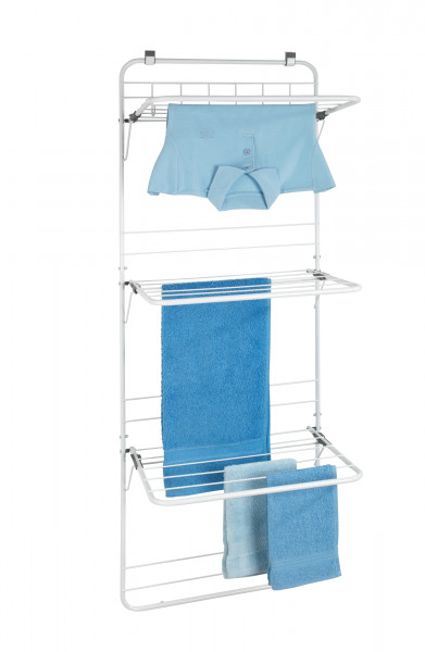 WENKO wäsche trocknen handtuch halter halterung ständer badewanne klein