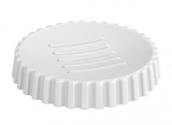 Seifenablage Minas Weiß