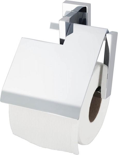 Edge Papierrollenhalter mit Blende, verchromt