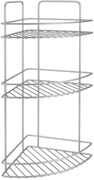 Reflex line Eck-Regal 3-stöckig Metall Matt