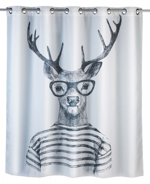 Duschvorhang Mr.Deer flex,antischimmel