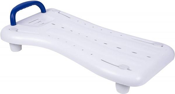 GAH Alberts 140458 Badewannenbrett mit Griff, Kunststoff, weiß, 690 x 270 mm