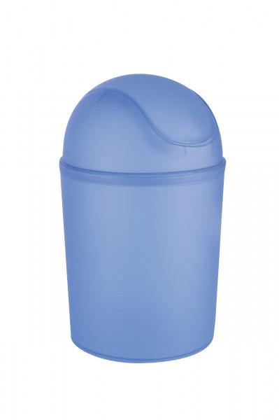 Schwingdeckeleimer Arktis Blau, 4,5 L