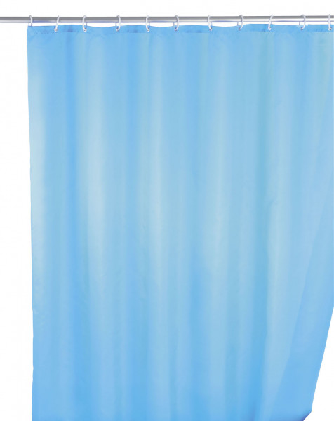 Duschvorhang light blue, 180x200 antischimmel