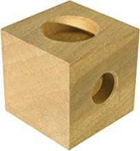 Stuhl-Erhöher, Hartholz, 100 x 100 x 100 mm, Set 4 Stück